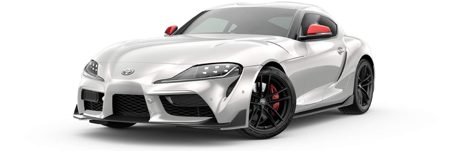 2020 2020-supra, Absolute Zero White - Launch, front view