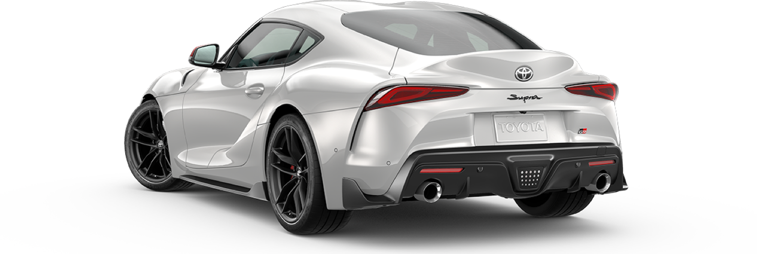 2020 2020-supra, Absolute Zero White - Launch, back view