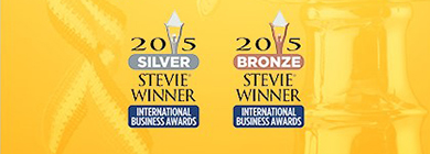 PRIZM wins 7 Stevie Awards Banner